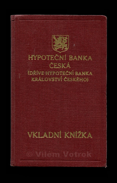 Czech mortgage bank savingsbook 594